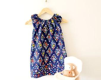 Rose Dream Organic Cotton Peasant Dress