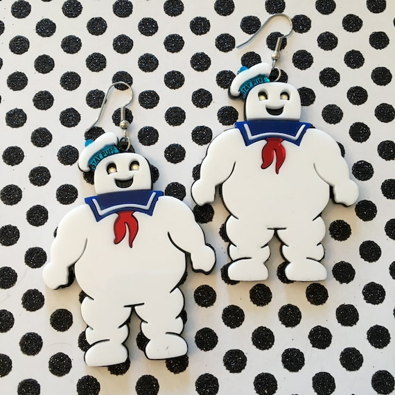 Ghost Busters Ghostbusters  Movie  Marshmallow Man  Earrings