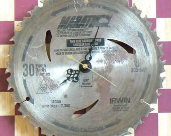 Circular Saw Blade - Clock