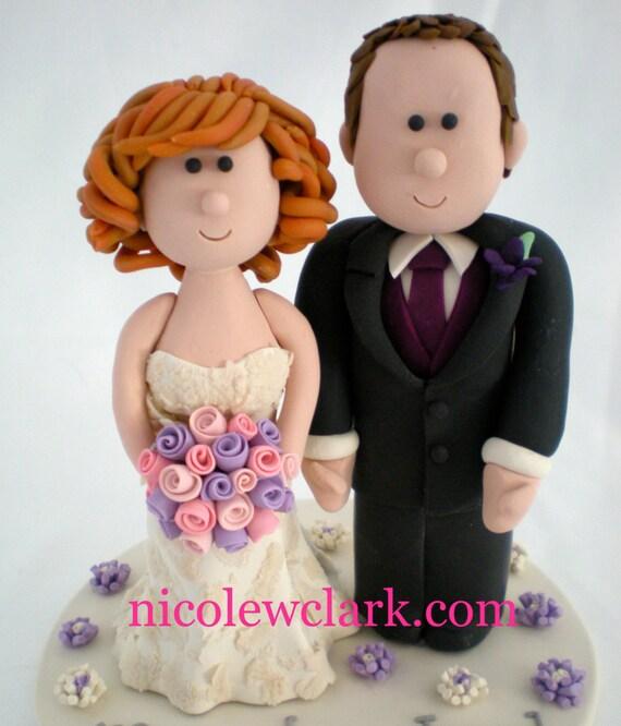 Custom Wedding Cake Topper. Personalized Wedding Cake Top. | Etsy