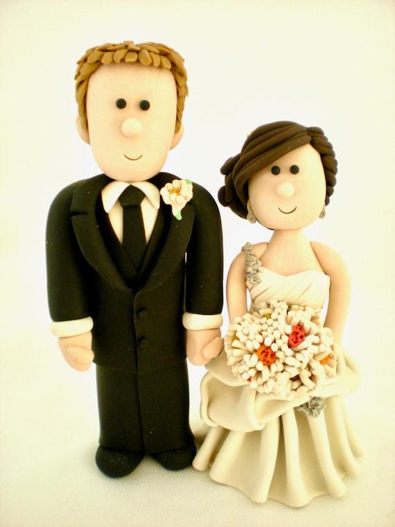 Wedding Cake Topper People Custom wedding toppers | Etsy