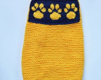 we knit for small pets and for big dogs ,including dachshund,weiner,whippet ,chinese crested,havanese,yorkie