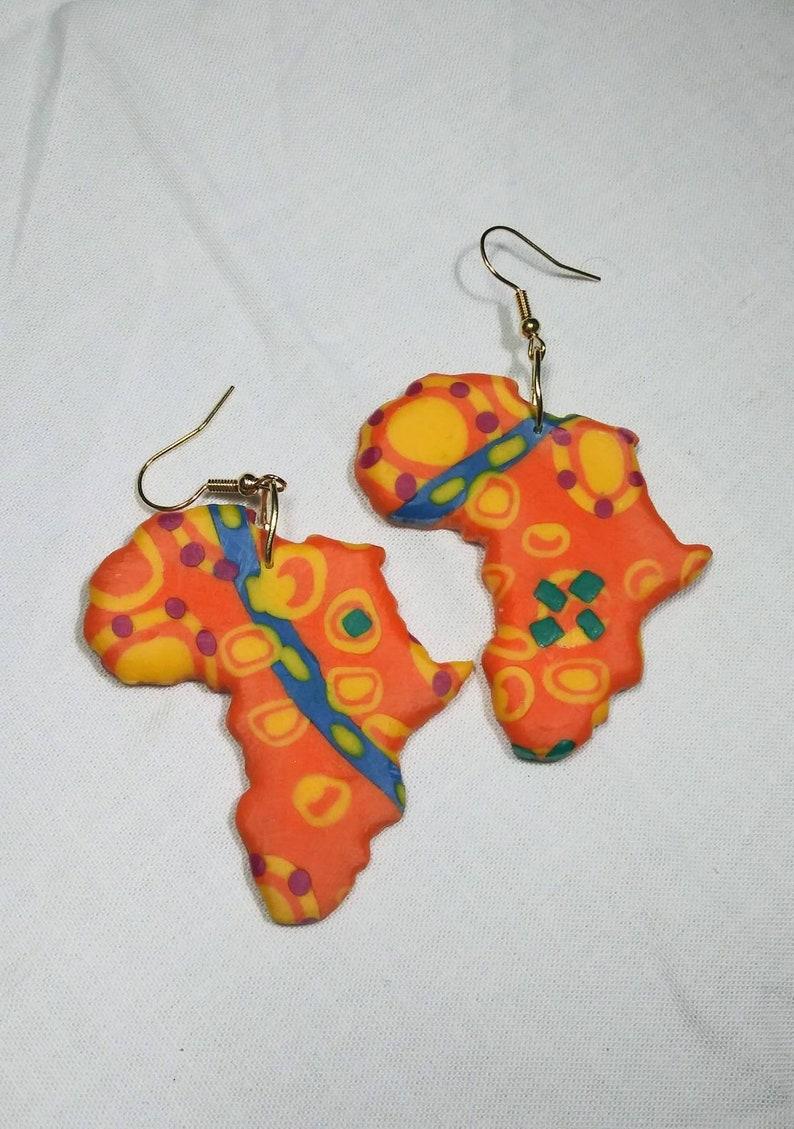 African Earrings image 0