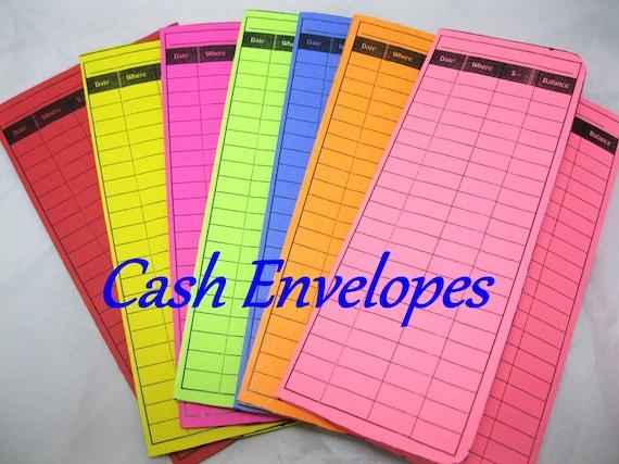 Coupon Organizer Cash Envelope System Chocolate Rose Floral