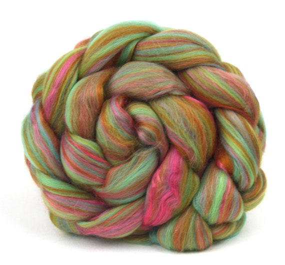 Combed Top Roving Merino Wool & Bamboo - Refresher -  100g