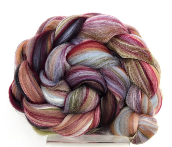Tapestry Merino Wool and Silk Combed Top 100g