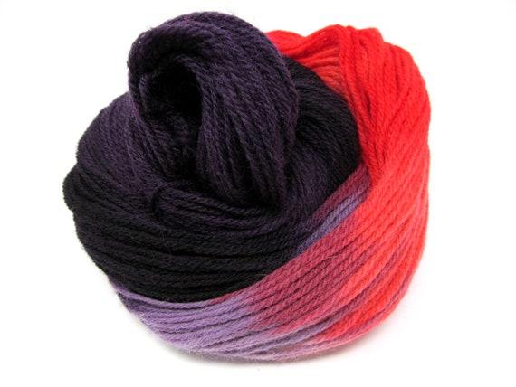 Falkland Wool Hand Dyed Yarn DK British Breed - 100g Hanks 300m
