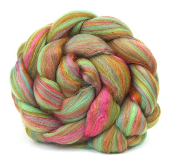 Combed Top Roving Merino Wool & Bamboo - Refresher -  100g