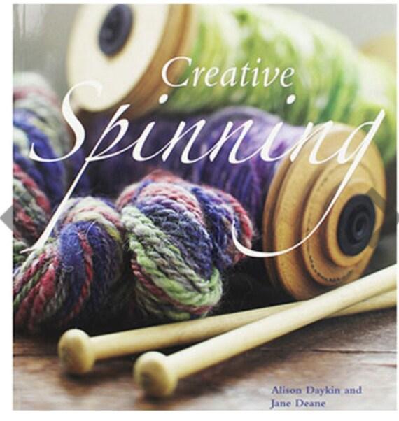 Creative spinning by Alison Daykin handspinning book art yarn