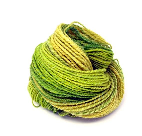Shunklies Hand Spun Yarn Hand Dyed Texel Wool 90g