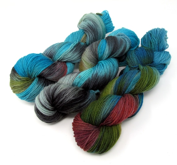 Dorset Horn DK Hand Dyed British Breed Yarn 100g 300m Skein