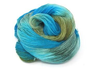 Sandown Hand Dyed Merino Wool & Tencel Laceweight Yarn 100g 700m