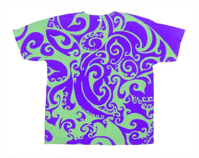 Fillmore Tee, Original Art, Designer Tee, Wild Print, T Shirt,Graphic Tee, Art Tee, Hand Drawn, Original Drawing