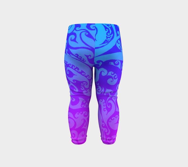 Pink Purple Blue Ombre 2T 12m 6m Baby Size 3T Baby Leggings Pants Katara/'s Favorite Celtic Spiral Swirl Original Art Festival