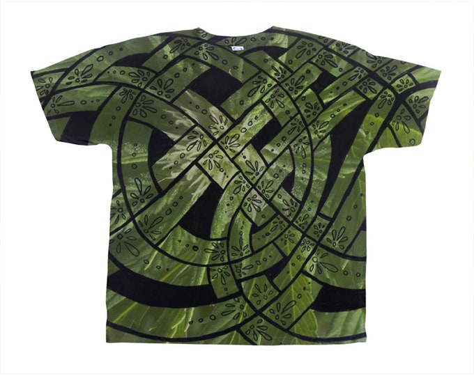 Humboldt, Celtic Knot, Tee Shirt, Cannabis, Marijuana, Pot Leaf, Leaves, Rave, Large Sizes, Festival, Adult,T Shirt, Original Art,Hand Drawn