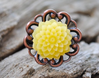 Mum Ring - Lemon