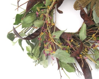 VANESSA WREATH   Twigs and Butterfly