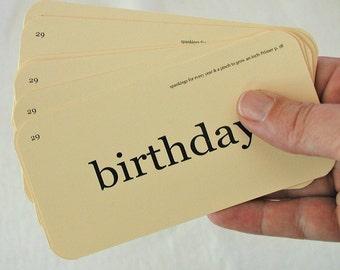 Birthday Flash Card