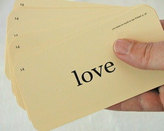 Love Flash Cards