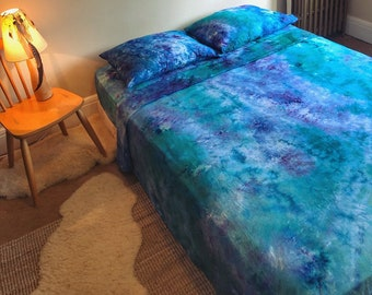 Northern Lights Tie Dye Bedding