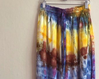 SAMPLE SALE! Tie Dye Skirt
