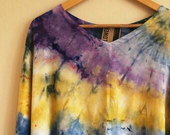 SAMPLE SALE! Boxy Tie Dye Blouse