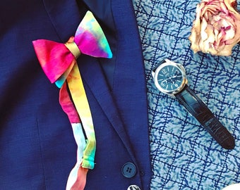 Silk Bow Tie - Jewel Tones