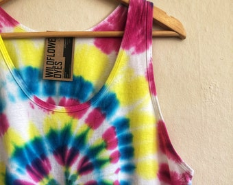 SAMPLE SALE! Men's Tie Dye Tank Top