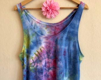 Boxy Crop Tank Top