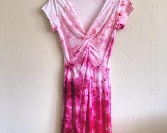 SAMPLE SALE! Ombre Bubble Gum Dress
