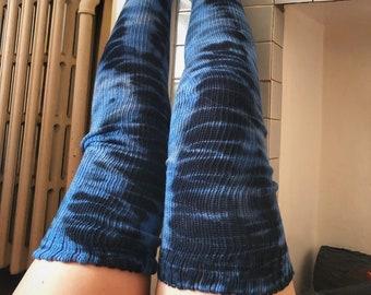 SAMPLE SALE! Thigh High  Socks - Tie Dye Socks - Dance Apparel