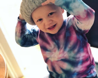 Tie Dye Toddler Sweatshirt