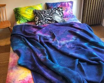 Tie Dye Blueberry Blanket