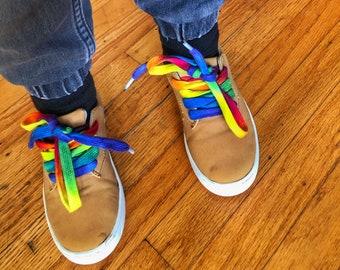 Rainbow Shoelaces