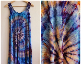 SAMPLE SALE! Tie Dye High Low Dress