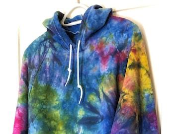 Rainbow Rain Hoodie