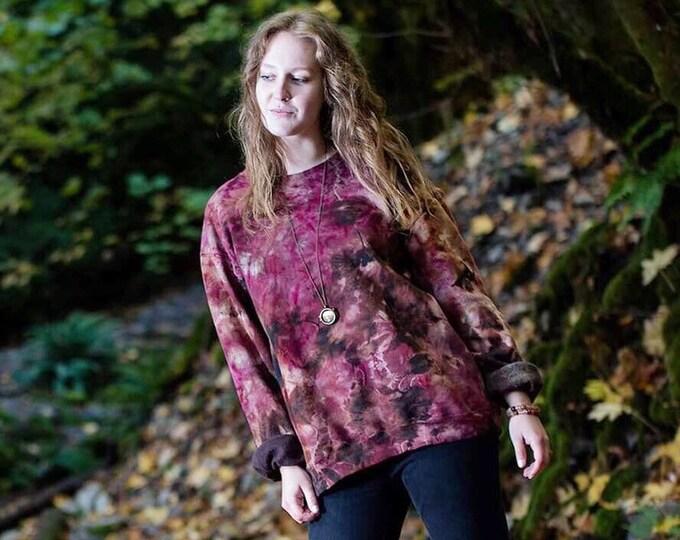 Featured listing image: Crimson & Coffee Tie Dye Sweatshirt
