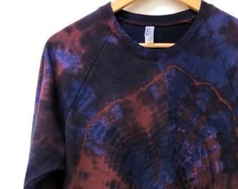 Rosy Galaxy Tie Dye Sweatshirt