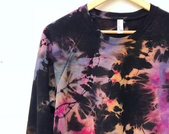 SALE - Pastel Paradise Tie Dye Sweatshirt - XL