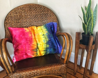 Rainbow Family Silk Pillowcase