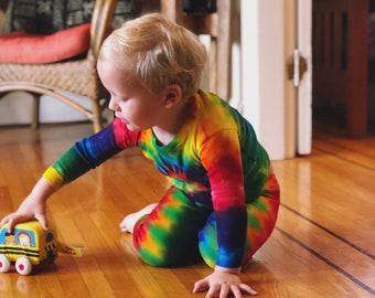 Rainbow Pj Set