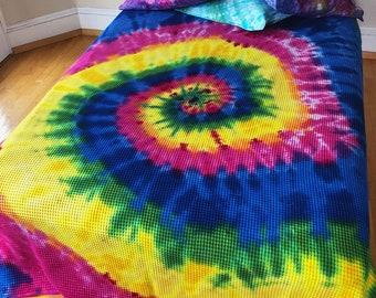 Wonka's Magnificent Rainbow Bedspread