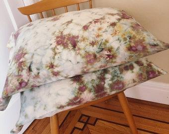 Pink Amethyst Silk Pillowcase