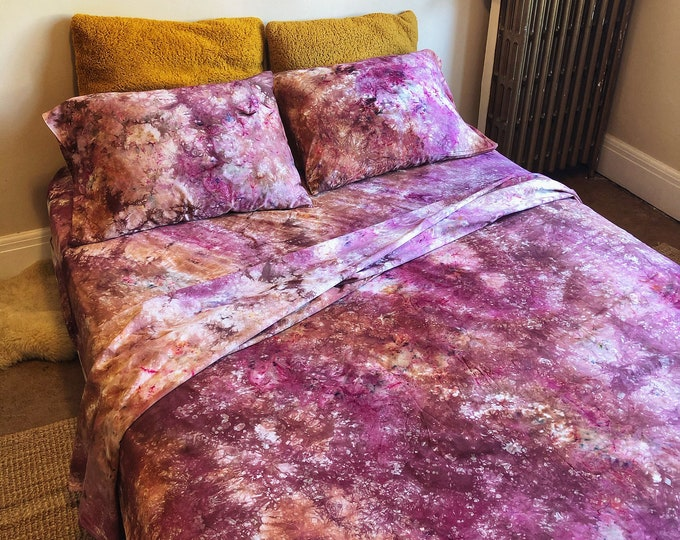 Featured listing image: Redwood Forest Tie Dye Bedding