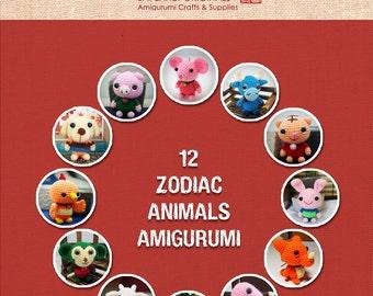 12 Zodiac Animals Amigurumi Patterns