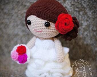 Bride Daisy, Amigurumi Wedding Pattern