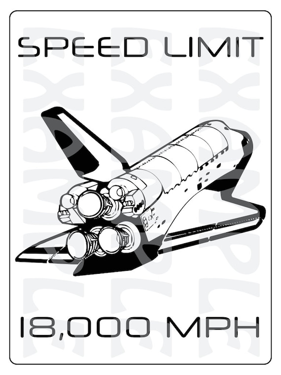 space shuttle speed - photo #38