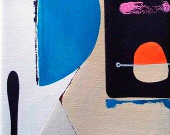 "Original Painting ""DO"" post minimalism art"