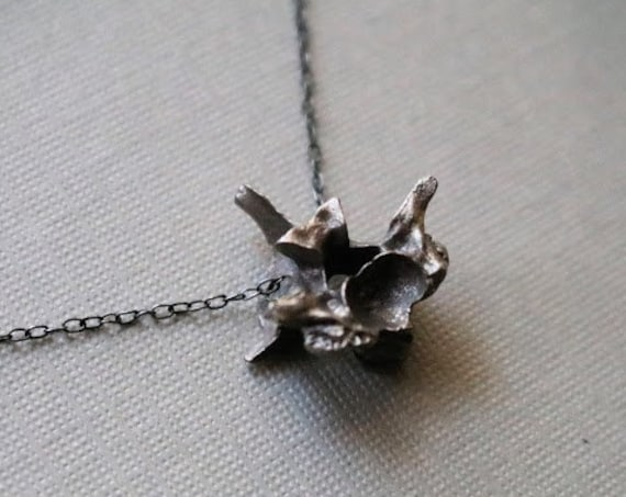 Hydra // snake vertebrae necklace