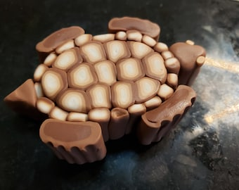 Tutorial for How to Make a Turtle Tortoise Cane with Polymer Clay Fimo Sculpey